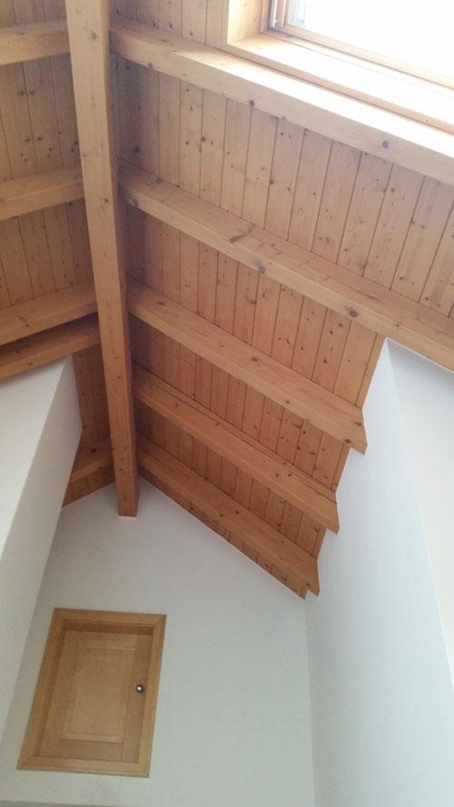 Relativ Sichtdachstuhl oder doch lieber ein Dachstuhl mit DY64